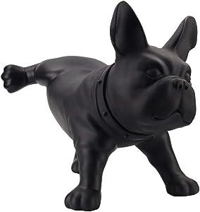 Modern Creative French Bulldog Dog Sculpture PE Plastic Mini pet Dog Statue Home Decoration Handicrafts