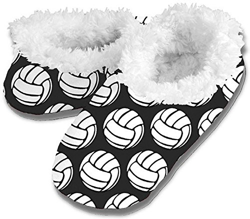 Volleyball Snoozies - Black, XL