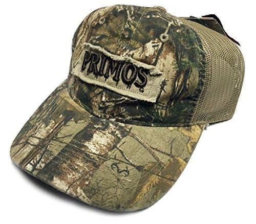 Primos Hunting Logo Cap with Mesh Back REALTREE Xtra Camo - Primos Mesh Cap