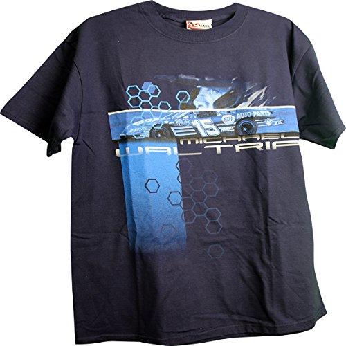 NASCAR Michael Waltrip #15 NAPA Racing 2 Sided Adult T-Shirt Medium