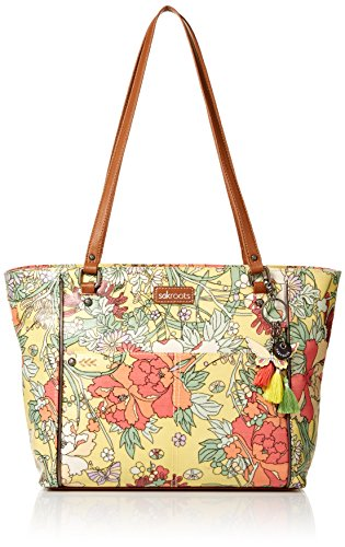 Sakroots Medium Tote, Sunlight Flower Power