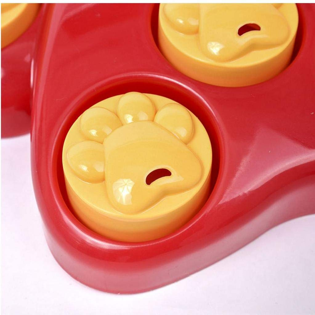 wwzEITpV 1pcs Dogs Puzzle Toys Fun Giant Claws Interactive Dog Toy Engaging Interactive Treat Dispensing Game for Your Dog
