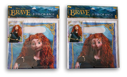 Party Supply - Disney Brave Merida - 16 Party Favor Bags