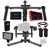 DJI Ronin M 3-Axis Brushless Gimbal Stabilizer + DJI Wireless Thumb Controller for Ronin-m + Atomos Ninja Assassin 4K HDMI Monitor/Recorder & more