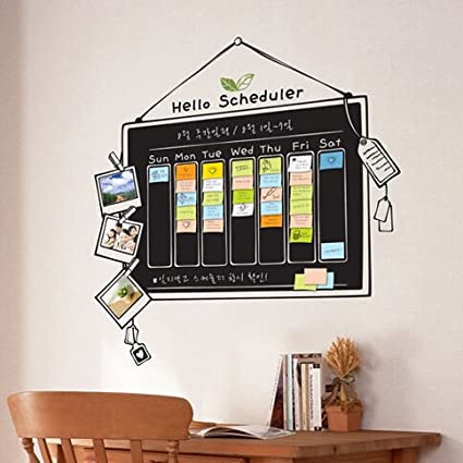 Caliente venta pizarra pegatinas para pared decoración ...