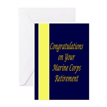 Cafepress marine corps congratulations retirement card greeting cafepress marine corps congratulations retirement card greeting card note card birthday card m4hsunfo