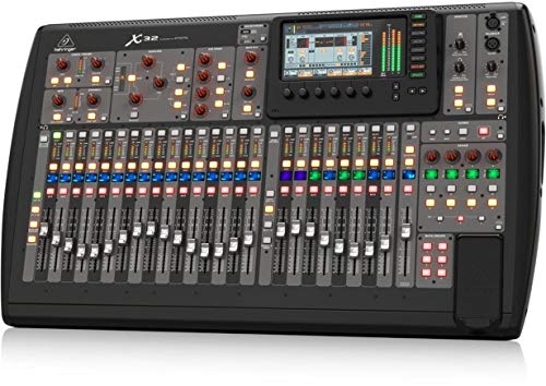 Bus Console Recording 8 (BEHRINGER, 32 40-Input 25-Bus Digital Mixing Console, Black (X32))