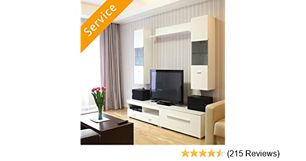 Tv Stand Or Media Storage Assembly Entertainment Center Amazon