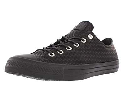 Converse All Star Ox Damen Sneaker Schwarz: Amazon.de: Schuhe ...