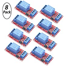 Youngneer 5v Relay Board Raspberry Arduino Relay Module 1 Channel Opto-Isolated High or Low Level Trigger
