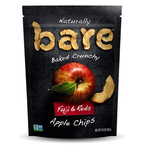 Bare Fuji Apple Chips (12x3.4 OZ) by Bare Fruit