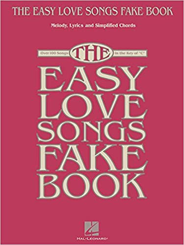 The Easy Love Songs Fake Book Melody Lyrics Simplified Chords In