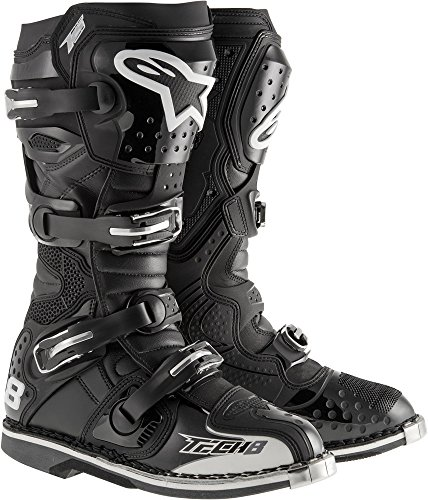 Alpinestars Tech 8 RS Offroad Motocross Boots Black Mens Size 14