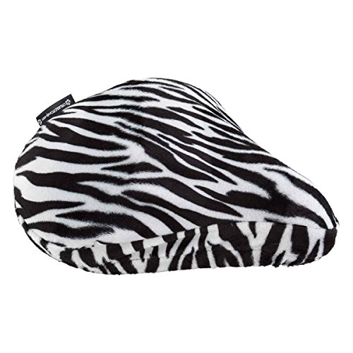 DVN Zebra Faux Fur Saddle Cover.