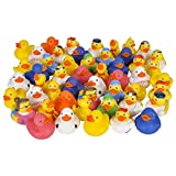 Rhode Island Novelty Lot of 50 Assorted Rubber Ducks [Toy]