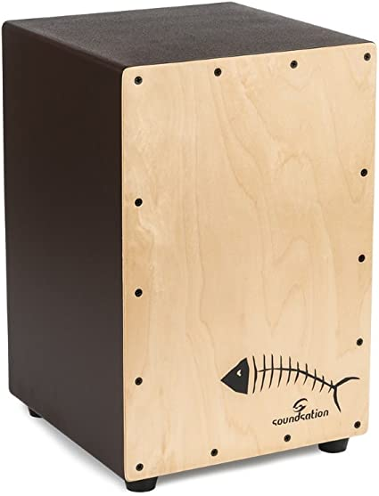 Cajón SOUNDSATION Tattoo Fish Backbone de madera con gran ...