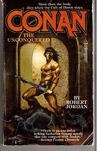 book cover of Conan the Unconquered