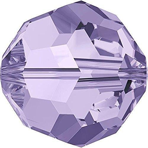 - 5000 Swarovski Crystal Beads Round Violet | 8mm - Pack of 10 | Small & Wholesale Packs