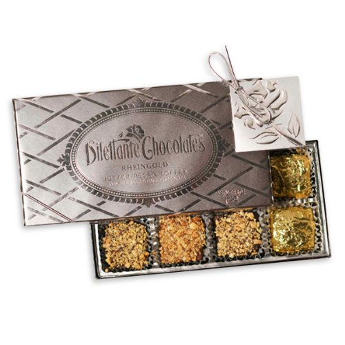 """Rheingold"" Butter Pecan Toffee - 8 Piece Gift Box - by Dilettante (2 Pack) by Dilettante"