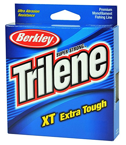 Berkley Trilene XT Filler 0.08-Inch Diameter Fishing Line, 4-Pound Test, 330-Yard Spool, Low Vis -