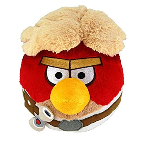 "Angry Birds Star Wars 8"" Plush Toy -Luke Skywalker"