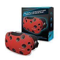 Skin Hyperkin GelShell Headset de silicona para HTC Vive (rojo)