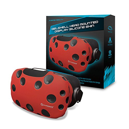 Hyperkin GelShell Headset Silicone Skin for HTC Vive (Red)