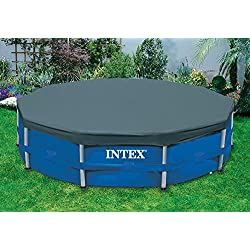 Intex 15 ft. Metal Frame Above Ground Pool Cover