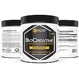 Natürlich Stacks BioCreatine - Creatine Supplement - 120 Vegetarian Capsules - Optimal Absorption - Improve Cognitive Function - Neuroprotection