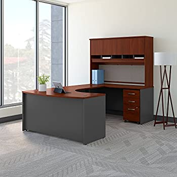Amazon.com: Bush Business Furniture Office Suite SRC086HCSU ...