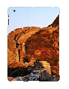 High Impact Dirt/shock Proof Case Cover For Ipad 2/3/4 (wall And Cliff )