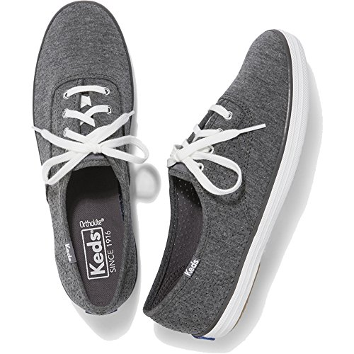 Keds Women's Champion Seasonal Solid Sneaker,Charcoal,8.5 M US