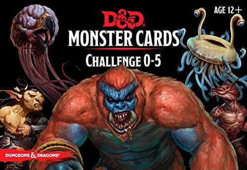 Dungeons & Dragons - Monster Deck 0-5 (179 cards) by Dungeons & Dragons