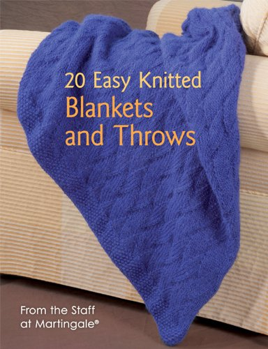 Amazon 20 Easy Knitted Blankets And Throws From The Staff At