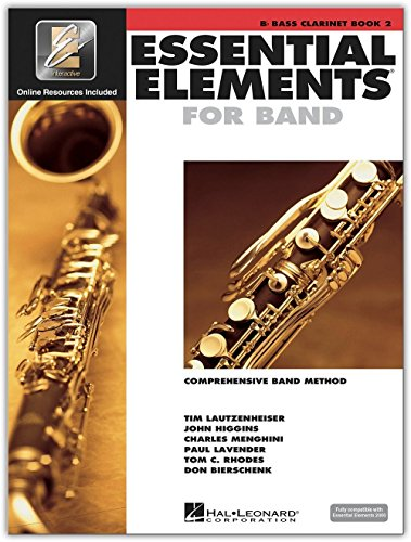 (Hal Leonard Essential Elements for Band - Bb Bass Clarinet 2 Book/Online Audio)