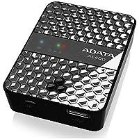 ADATA AAE400-CBKSV DashDrive Air AE400 Black 5000 mAh Wireless Storage Reader and Power Bank
