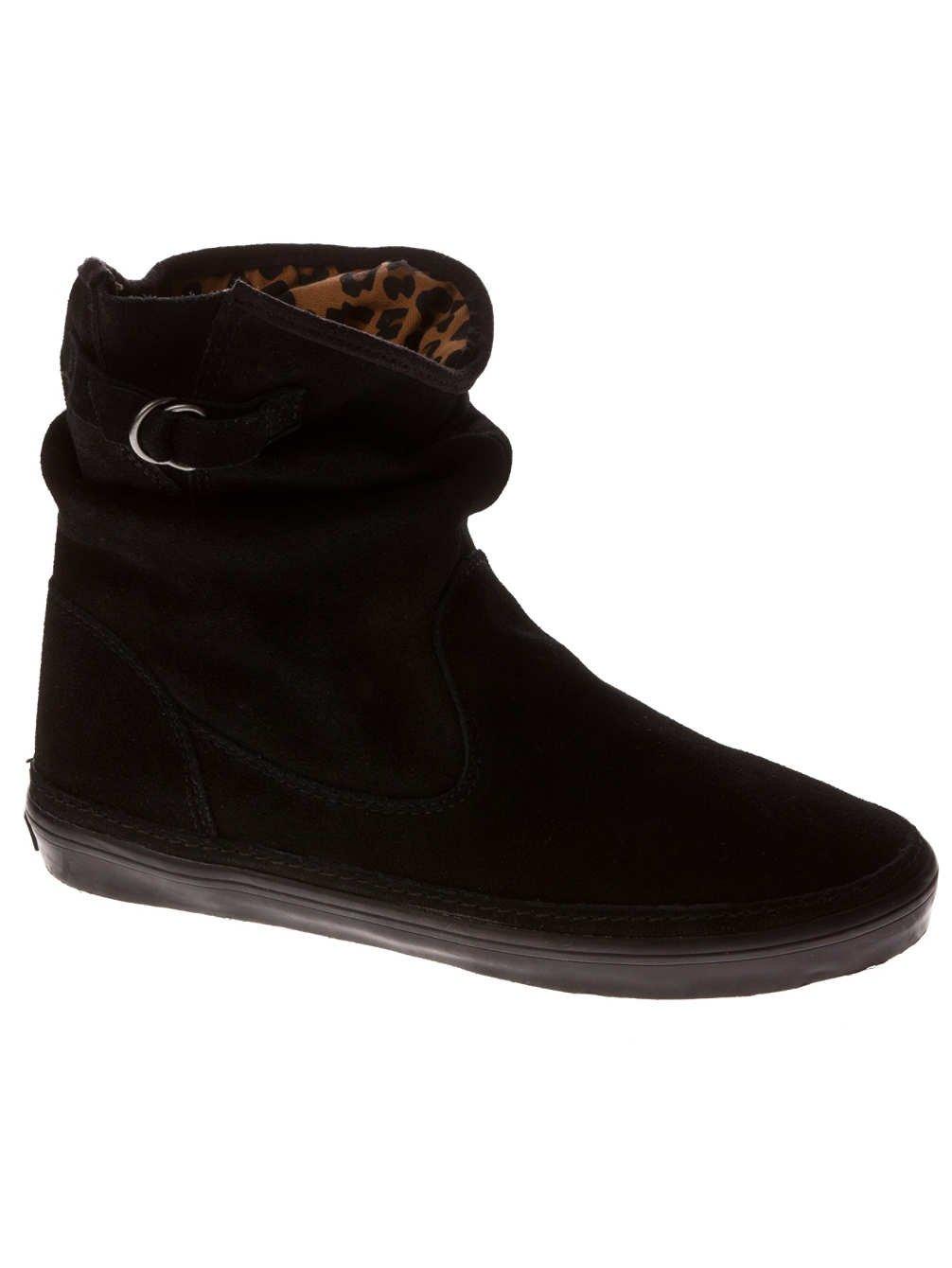 Vans Damen Stiefel Prairie Boot Women (Suede) BlackLeopard