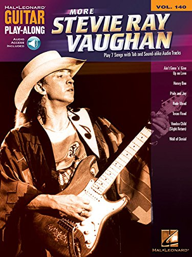More Stevie Ray Vaughan: Guitar Play-Along Volume 140 [Stevie Ray Vaughan] (Tapa Blanda)