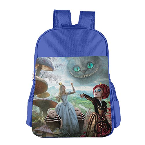 Alice In Wonderland King Of Hearts (Alice In Wonderland Kids School Bag RoyalBlue)
