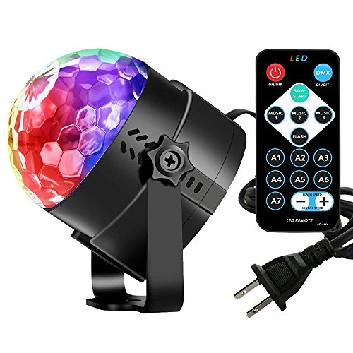 Find Cheap Vnina Disco Ball Party Lights -Led Party Lights With Remote Control DJ Lighting ,Mini Str...