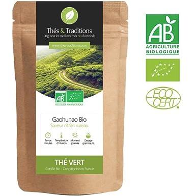 Thés & Traditions - Limón orgánico té verde Viejo - Gaohunao ...