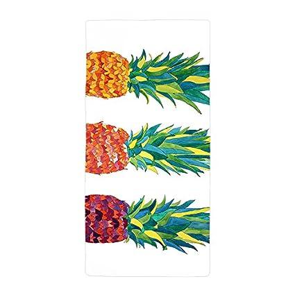 warrantyll personalizado dulce Piña Fruta grueso absorbente suave baño toalla de playa de microfibra (50