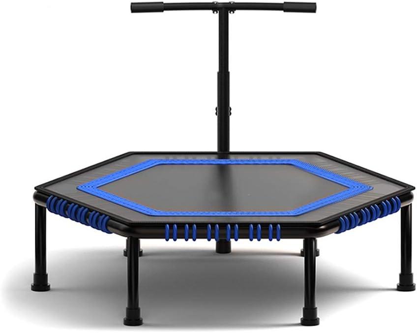 BDBT Juego Infantil Trampolín Circular con Mango Plegable Aptitud Trampolín Adult Home Fitness Equipment Opcional 45/50 Pulgadas (Size : B)