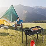 ROVSUN 3 Burner Outdoor Propane Gas Stove High