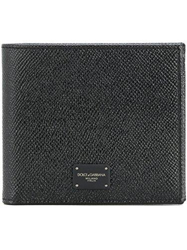 Dolce E Gabbana Men's Bp1321ai35980999 Black Leather - Dolce Gabbana Mens Wallet