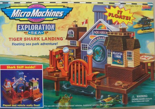 Micro Machines Exploration Sea Tiger Shark Landing by ()