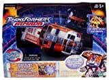 Transformers Armada Powerlinx Red Alert (Electronic Lights and Sounds) with Powerlinx Longarm Mini-con