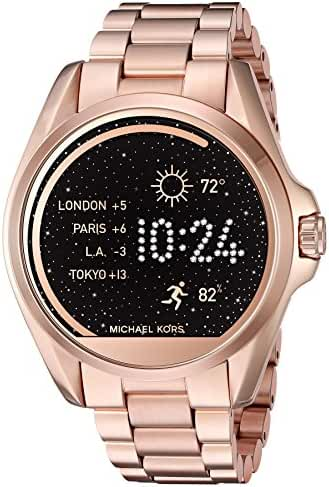 Michael Kors Access Touch Screen Rose Gold Bradshaw Smartwatch MKT5004