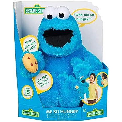Sesame Street Hand Poppet Talking Doll - Cookie Monster  Amazon.co.uk  Toys    Games 024bfa229