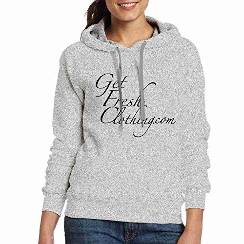 Customized Delle Donne Co Hoodies Grigia Logo Fresh Logo Clothing Ottengono Get Co Felpe Sweatshirt Magliette Personalizzate Felpa Womens Felpe Fresco Hoodies Tshirts Gfc Gfc Abbigliamento Grey Aqvx5z